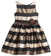 Frais Toddler Girl's Stripe Fit & Flare Dress