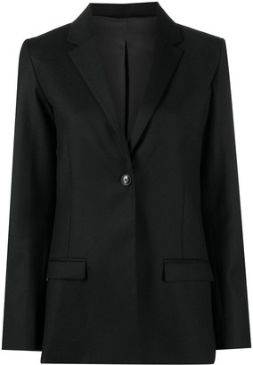 Totême Single-Breasted Notch Lapel Blazer