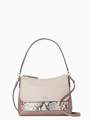Kate Spade Melody Mixed Material Flap Shoulder Bag
