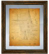 PTM Images Vintage Planogram Wall Art