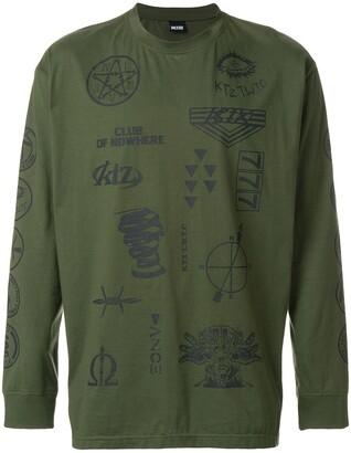 Kokon To Zai Multi-Stamp Sweatshirt