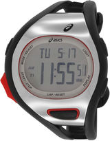 Asics Black/White Ar07 Runner Unisex Multicolor Strap Watch-Cqar0701y