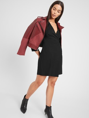 Banana Republic Drape-Front Dress
