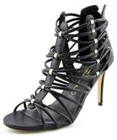 Report Signature Alden Women Open-toe Synthetic Black Heels.