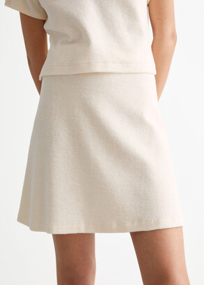 And other stories Terry Mini Skirt
