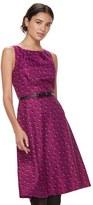 Elle Women's ElleTM Pleated Midi Dress