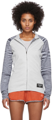 Missoni Adidas X adidas x White PHX Zip-Up Jacket