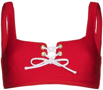 Heidi Klein Tie-Front Bikini Top
