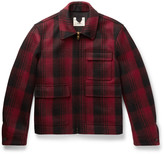 Kent & Curwen - Checked Wool-flannel Jacket