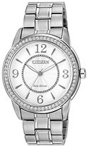 Citizen Women's FE7000-58A Drive from Eco-Drive TTG Analog Display Silver Watch
