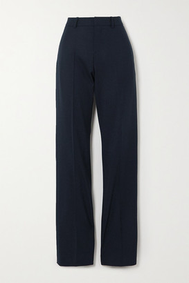 GAUCHERE Rubi Wool-blend Straight-leg Pants - Black