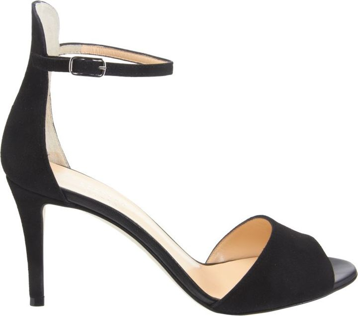 Barneys New York Women's High Back Ankle-Straps Sandals-Black