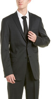 Hart Schaffner Marx Wool-Blend Suit