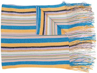 M Missoni Glitter Striped Scarf