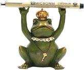 Sterling Home 7-8198 Superior Frog Gatekeeper Pen Holder, 4-1/ Tall