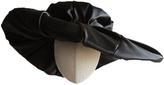 Black Drape Hat