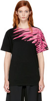 Marcelo Burlon County of Milan Ssense Exclusive Black Pras T-shirt