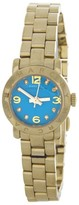 Marc by Marc Jacobs MBM3229 Gold-Tone Amy Dinky Gold Tone Aqua Dial Watch