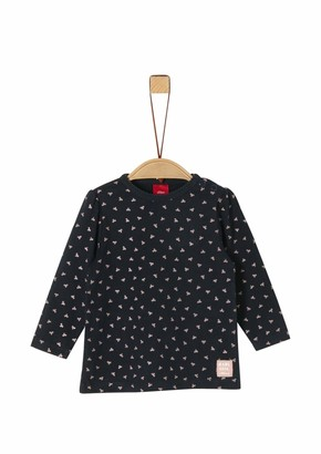 S'Oliver Baby Girls' 59.911.31.8790 Long Sleeve Top