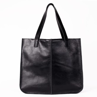 Neyuh Leather The Large Tote Black