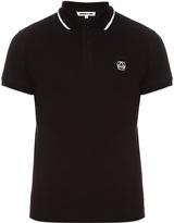 McQ by Alexander McQueen Logo cotton-piqué polo shirt