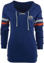 Antigua Women's Edmonton Oilers Foxy Sweatshirt