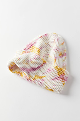 Urban Outfitters Tall Tie-Dye Ribbed Knit Beanie