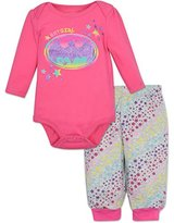 DC Comics Batgirl Onesie and Pants Layette Set Baby Girl (6-9 Months)