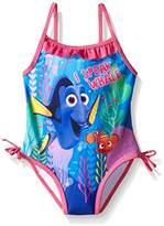 Disney Finding Dory Nemo Girls Swimsuit Swimwear