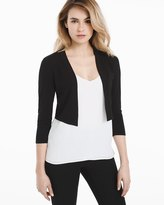 White House Black Market Ribbed Shrug