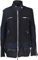 Sacai Knitted Military Jacket