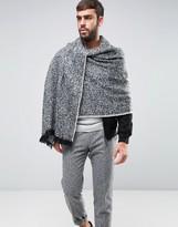 Asos Blanket Scarf In Herringbone Design