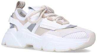 Dolce & Gabbana Stretch-Knit Daymaster Sneakers