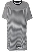 Diesel Black Gold striped T-shirt dress - women - Cotton/Nylon/Spandex/Elastane - S