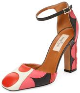 Valentino Garavani Leather Block Heel Pump
