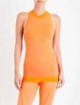 adidas by Stella McCartney Yoga sleeveless knitted top