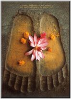 Art.com Thich Nhat Hanh ''I Have Arrived'' Wood Wall Art