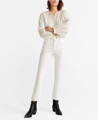 MANGO Regular Straight Jeans