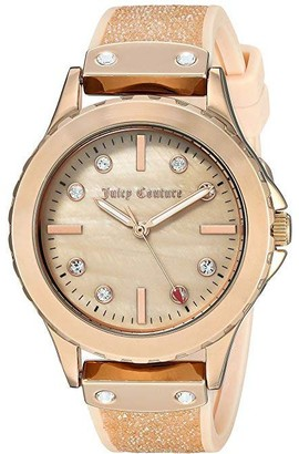 Juicy Couture Ladies' Blush Crystal Strap Watch