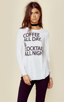 Chaser coffee & cocktails tee