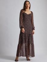 Dorothy Perkins Tiered Maxi Dress - Black