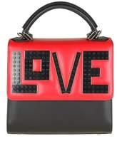 Les Petits Joueurs Alex Mini Bag Bordeaux / Black Leather