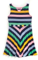 Tommy Hilfiger Final Sale- Sleeveless Stripe Dress