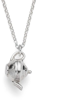 Harry Rocks Silver Teapot Necklace
