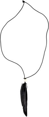 Ann Demeulemeester Feather Pendant Necklace