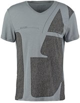 Guess Be Here Now Print Tshirt Alloy Grey