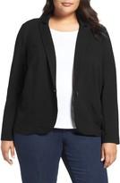 Olivia Moon Plus Size Women's Ponte Blazer