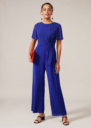 Phase Eight Georgette Knot Bodice Jumpsuit