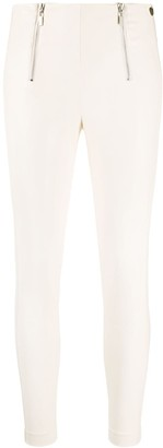 Twin-Set Cropped Skinny-Fit Trousers