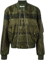 Givenchy Puffer Jacket - women - Polyimide/Viscose/Polyester - 38
